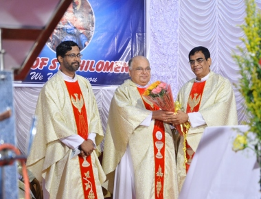 Annual Feast of St Philomena celebrated at Puttur