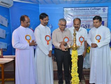 National Level Workshop on 'GST' held at PG Dept. of Commerce, SPC Puttur