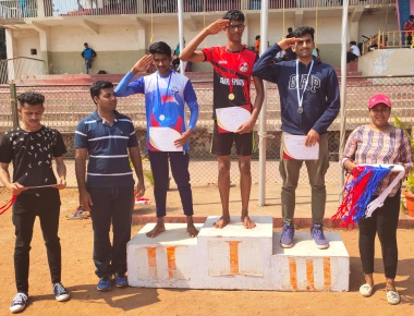 Sports Day of Sarosh Institute of Hotel Administration, Nitte Campus, Mangalore