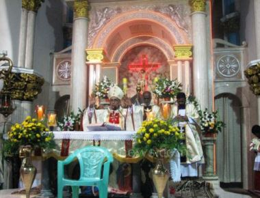 Archbishop Moras Celebrates Feast of St Bernard