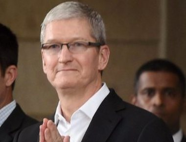 Apple CEO Tim Cook lands in Kanpur to watch IPL encounter