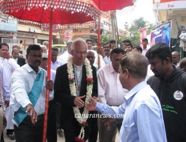 Fr Tom Accorded Hearty Welcome at Don Bosco Parish