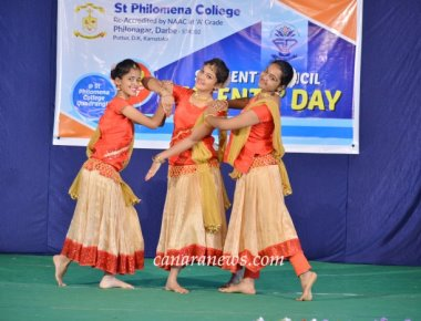 Talents Day Programme held at St Philomena College Puttur