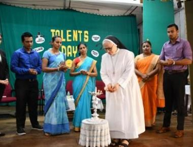 An Intra College Competition of I B.Com TALENTS DAY 2019