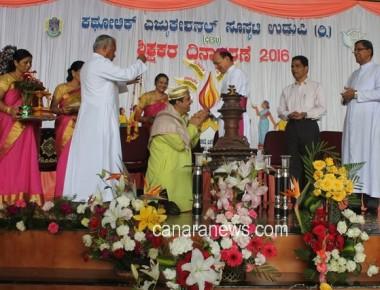 Catholic Education Society of Udupi observed Teachers' Day