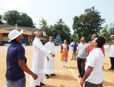 Cricket –Throwball Tournament by Catholic Sabha Kundapur