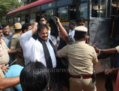 Protested BJP leaders in Udupi arrested over Tippu Jayanthi celebration