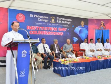 Institutions Day celebrated at St Philomena College Puttur