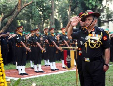 Lieutenant General Bipin Rawat also interacted with the soldiers from various