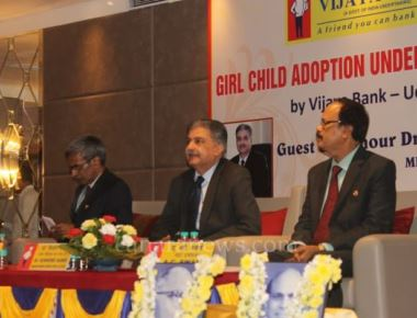 Vijaya Bank handed over adoption certificate to 57 girls at Manipal