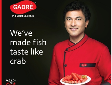 Gadre Marine Export Pvt Ltd signs India's Star Chef Vikas Khanna as Brand Ambassador