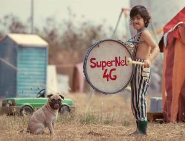Vodafone's iconic Pug comes back to announce 'Vodafone SuperNet™'