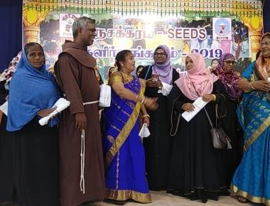 Nesakkaram, Franciscan NGO Celebrates the 800th Anniversary of St. Francis Meeting the Sultan