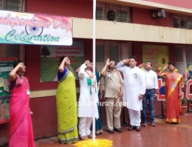 Independence Day Celebration at St. Xaviers High School