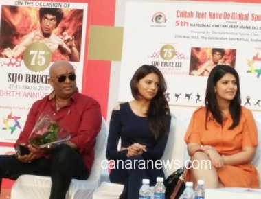 Chitah Yajnesh Shetty Celebrated the 75th birth Anniversary of Bruce Lee with Celebrities