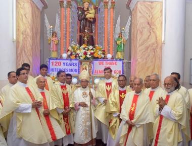 Celebrating 120 years of St Anthony's Shrine