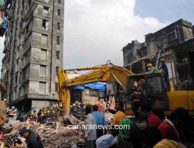 Mumbai building crash kills 22, PM voices grief