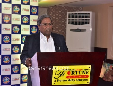 Historical KNRI- UAE Business meet with CM Siddaramaiah – A Fortune Group Initiative