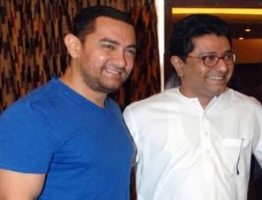 Raj Thackeray, Aamir, Nitesh Rane visit Salman
