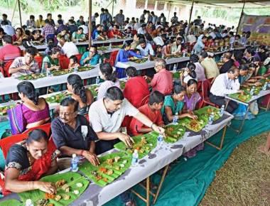 Aati Koota gives a taste of local delicacies