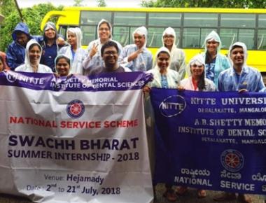 ABSMIDS NSS unit hosts Swachh Bharat Summer Internship