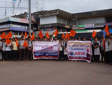 ABVP allege irregularities in Mangaluru University