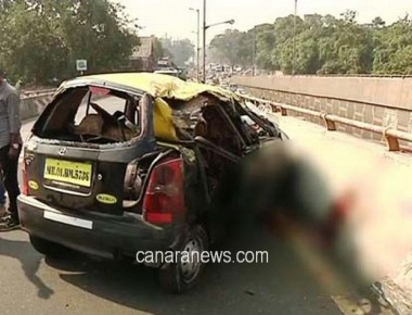 6 of family die after taxi turns turtle on Freeway