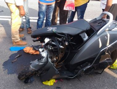 Bike rider killed in accident