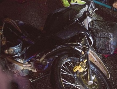Pillion rider dies after bike hits stationary lorry