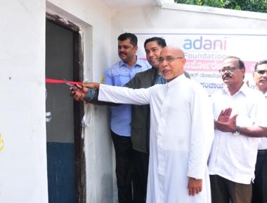 Adani Foundation constructs toilet blocks worth Rs 7.45 lac at Mudarangadi under CSR