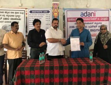 Adani UPCL declares Rs one crore CSR grant for Belapu gram panchayat