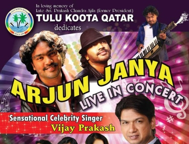 Tulu Koota to host Arjun Janya Live in Concert on Oct 30 in Doha
