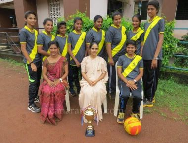 St Agnes PU College team emerges victorious at throwball, karate tourneys