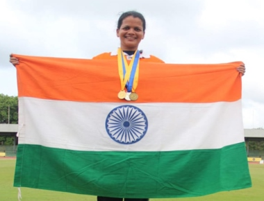 Agnes Saldanha of St Aloysius Gonzaga School shines in athletics