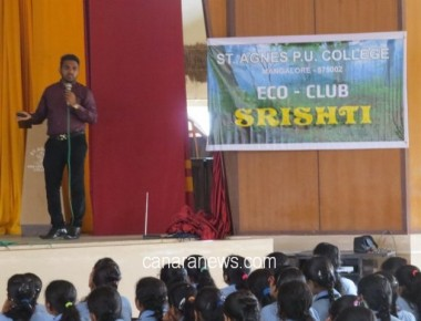 Seminar on conservation of butterflies held at St Agnes PU College