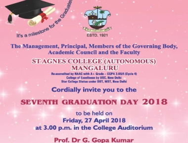 St Agnes College to hold 7th graduation day on Apr 27