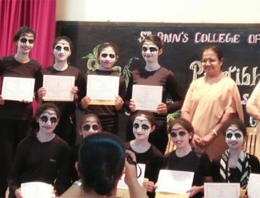 St Agnes School wins prizes in collage making, mime