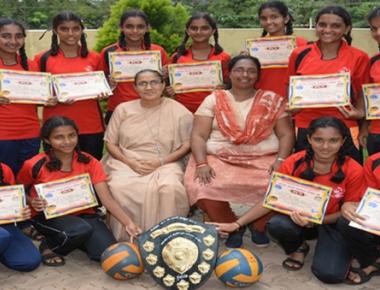 St Agnes High School kabaddi, volleyball teams emerge winners