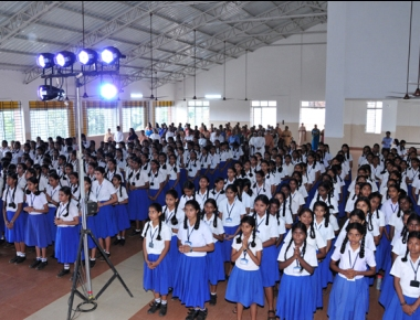 Students of St Agnes High School shine with good marks in SSLC