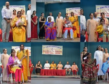 St Agnes Pre-University College felicitate toppers at PTA AG meeting