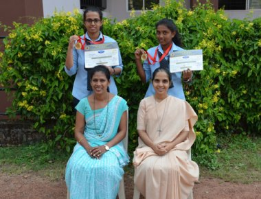 St Agnes PU College bags first place in state level karate tournament
