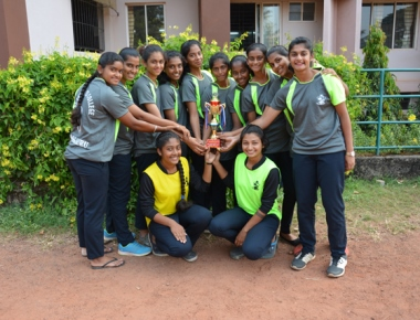 St Agnes PU College wins district level handball tourney