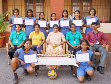 St Agnes CBSE School bags first place in volleyball tourney