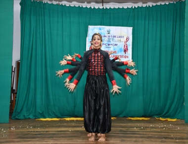 St Agnes College cultural association hosts innovative Indian dance competition