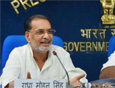 Storm over Agri Minister's reply on farmer suicide.