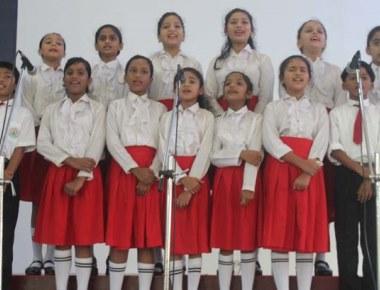 AICS interschool shuttle badminton tourney juniors held at Prestige International School