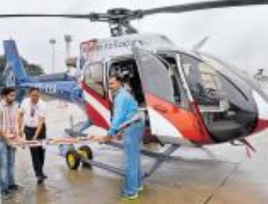 Air ambulance service to be operational in state in Jan