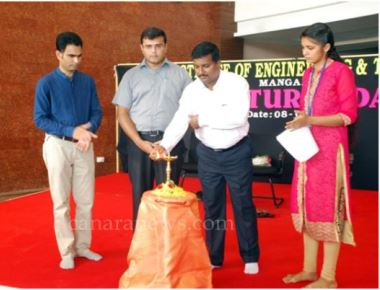 A J Institute of Engineering and Technology observes Cultural Day