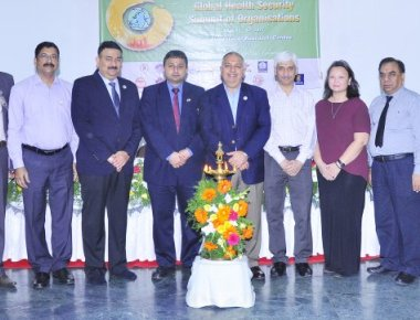 Indo US Global Health Security Summit held at AJ insitute