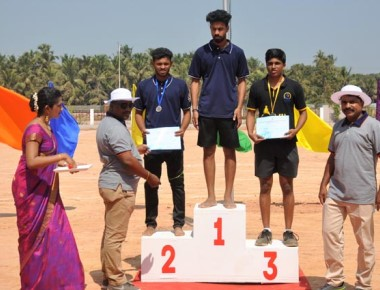 2nd annual sports meet held at A J Institute of Engineering & Technology